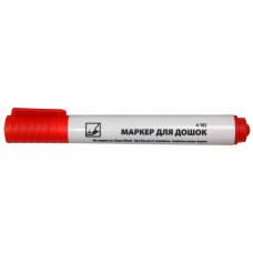 Маркер для досок 1-3мм круглый красный 4-105 4Office