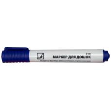 Маркер для досок 1-3мм круглый синий 4-105 4Office