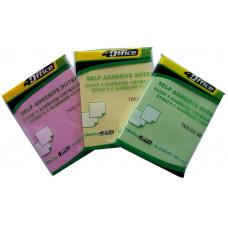 Бумага клейкая 76х102мм 100л цвет в ассортименте 4-425 4Office