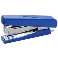 Степлер пластик., 10, 16 листов., синий, черный 4-303, 4OFFICE