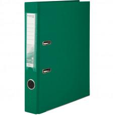 1713-04Папка-регистратор одностор. PP 5 cм, зеленый AXENT