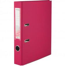 1713-05 Папка-регистратор одностор. PP 5 cм, розовый AXENT