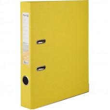 1713-08 Папка-регистратор одностор. PP 5cм, желтый AXENT