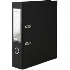 1714-01Папка-регистратор одностор. PP 7,5 cм, черная AXENT