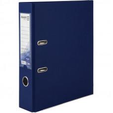 1714-02 Папка-регистратор одностор. PP 7,5 cм, темно-синяя AXENT