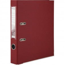 1713-37 Папка-регистратор одностор. PP 5 cм, собран, вишневый AXENT