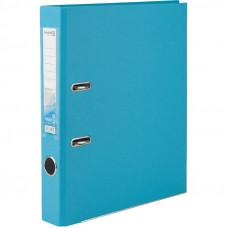 1713-29 Папка-регистратор одностор. PP 5 cм, голубой AXENT