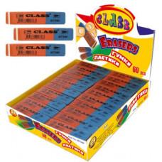 Ластик комбинированный сине-красный 4973/60 CLASS