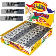 Ластик комбинированный бело-серый 4974/60 CLASS