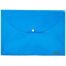 """Папка с кнопкой А4 РР 160мкн """"Pastel"""" голубой 5102 NORMA"""