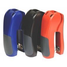 Степлер пластик 25л 24/6-26/6 55мм цвет в ассортименте вертикальный 4047 NORMA