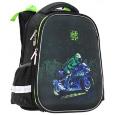 "ранец  SchoolCase ""Motobike"", 2 відд., 39*28*21см, PL, арт. 2116C, CLASS"