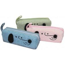 Пенал-кошелек с карманом, 21,5*7*5,5cм, PL, цвет ассорти, 21704S, SAF