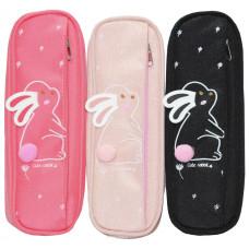 Пенал-кошелек с карманом, 21,5*8*6,5cм, PL, цвет ассорти, 21706S, SAF
