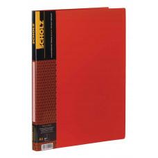 Папка-скоросшиватель+карман А4, 2см, PP 700мкн, цвета в ассорт. 04500, Scholz
