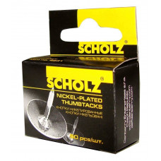Кнопки 50шт никелированные 4831 Scholz